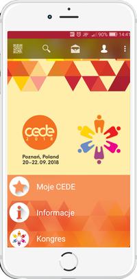 aplikacja mobilna CEDE 2018