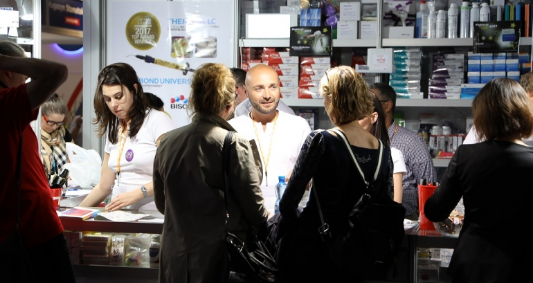 Exhibition - business and education arm in arm