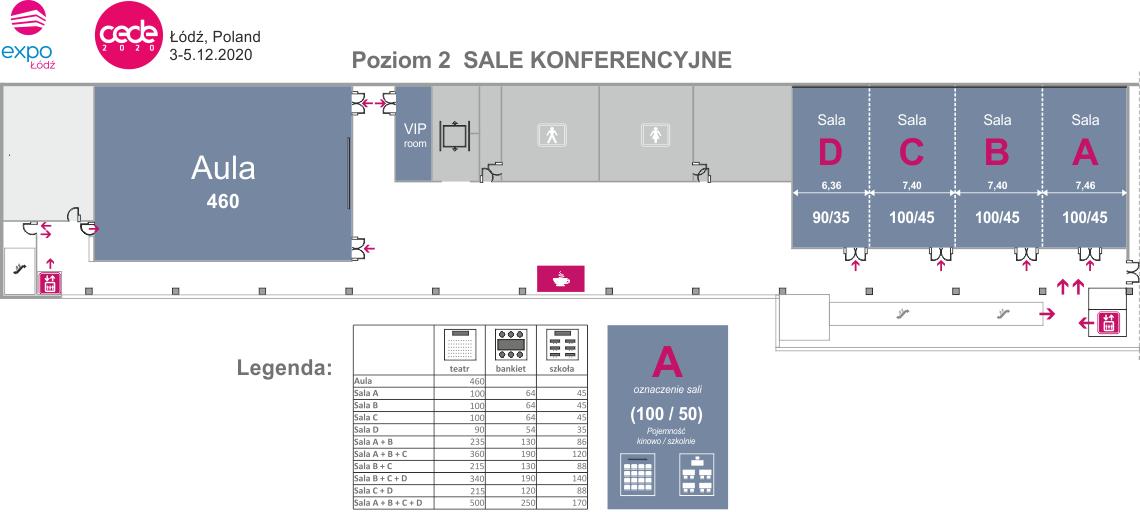 Expo-Łódź - sale konferencyjne