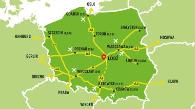 Dojazd do Łodzi